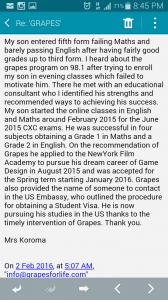 Koroma's Testimony