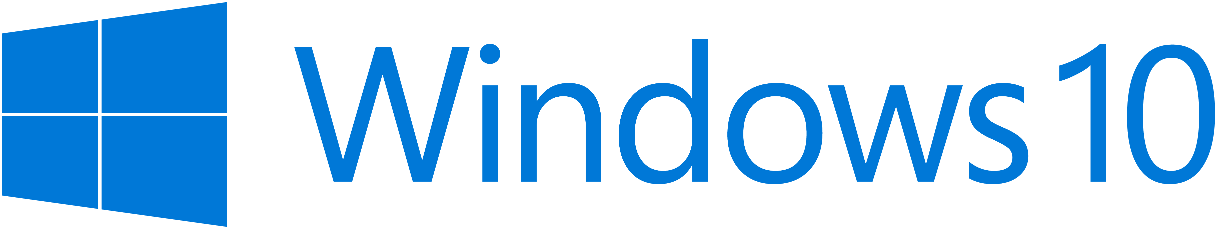 Windows10 Full Blue Logo